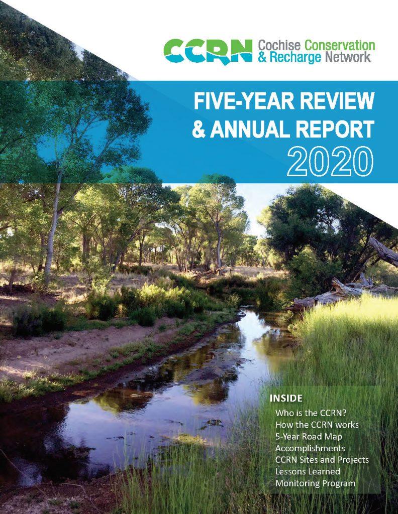 CCRN annual report cover
